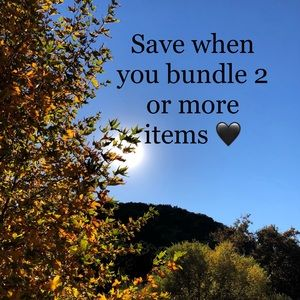 Other - Bundle items and get a great deal :)